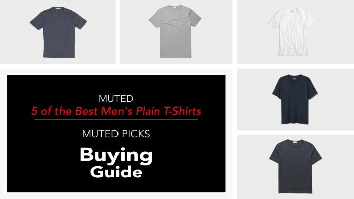 5 Best Mens Plain T-Shirt Brands