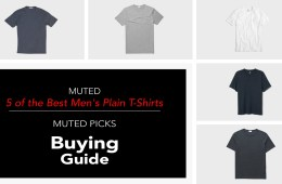 5 Best Mens Plain T-Shirt Brands