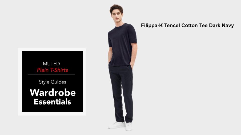 best mens plain t-shirts