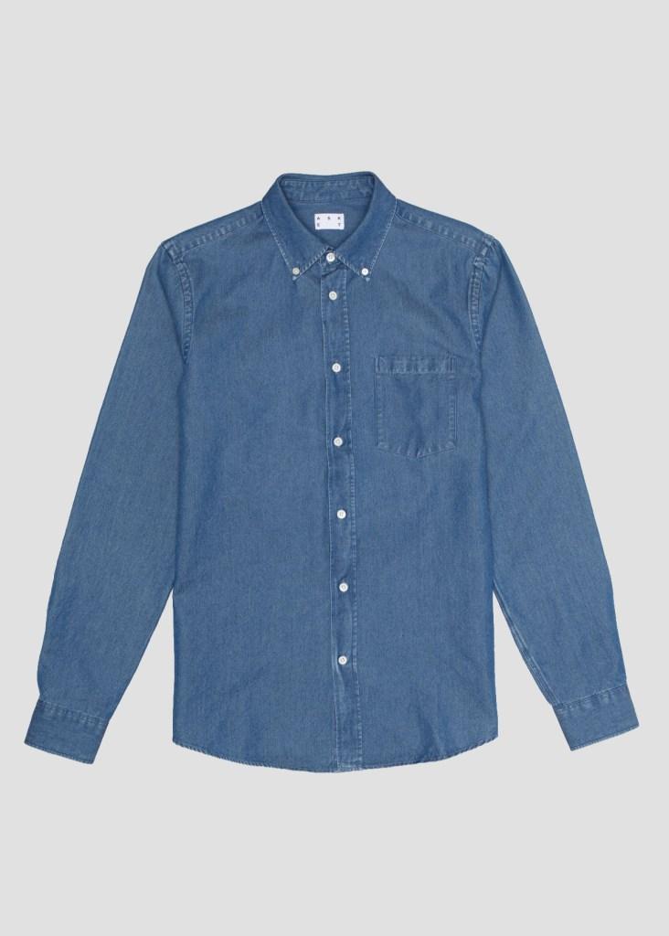 best denim shirts for men - asket