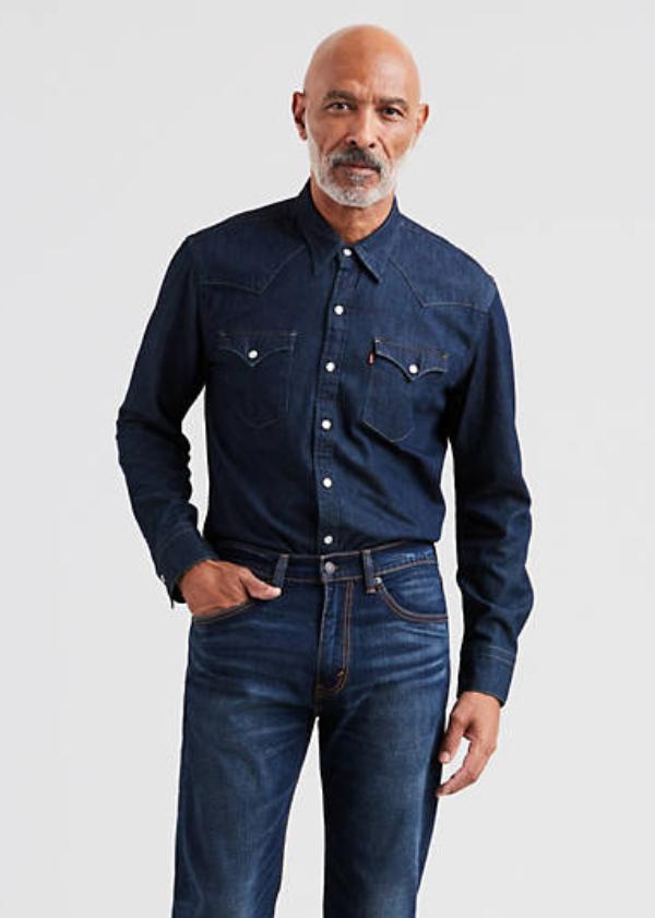 levis best denim shirts for men