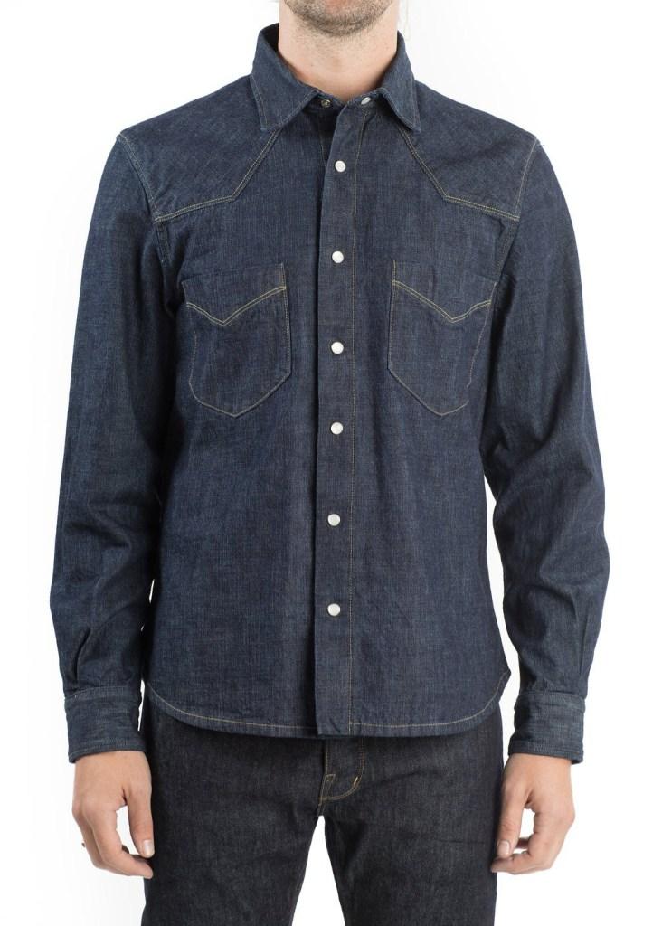 shockoe atelier best denim shirts for men