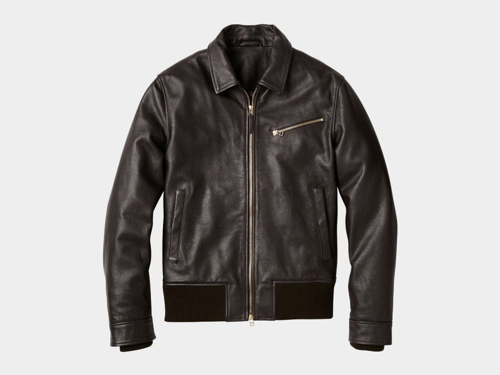 Bonobos Best Men's Leather Jacket