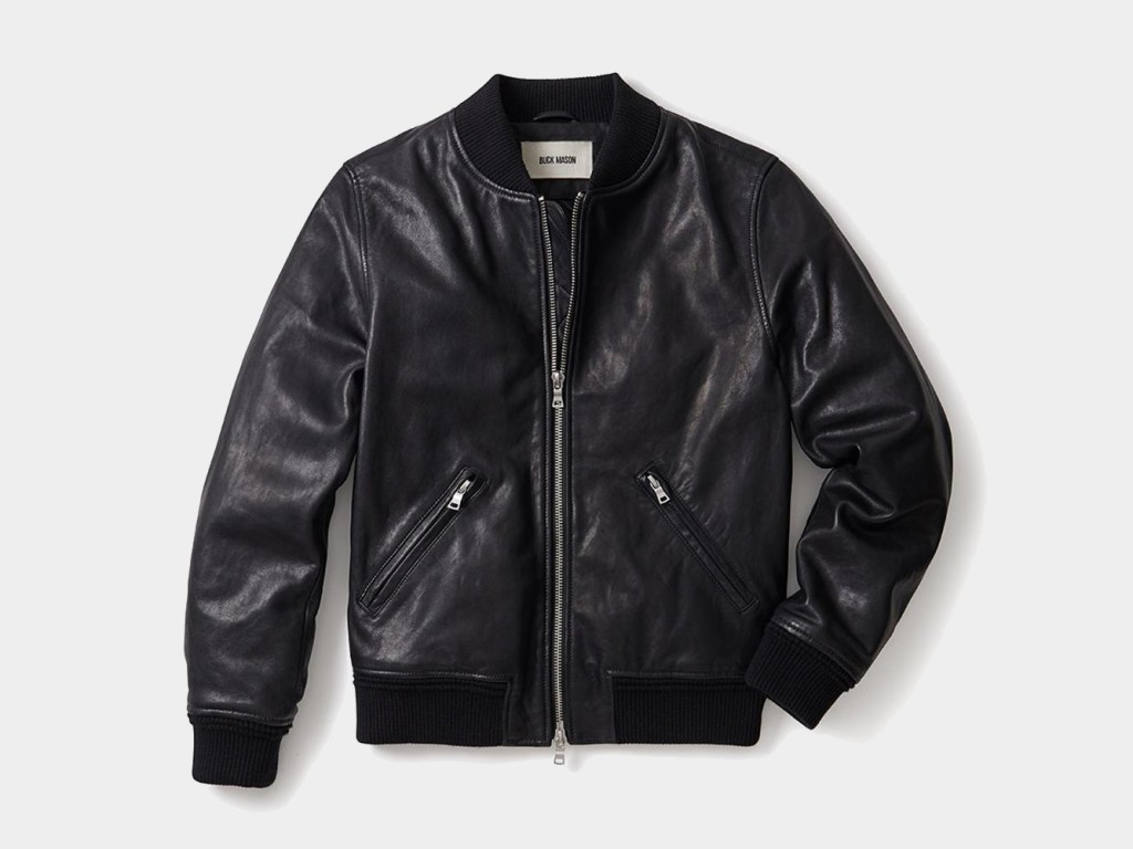 Buck Mason Best Leather Jacket for Men