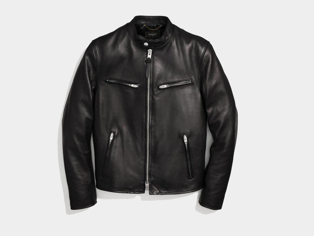 Coach Best Leather Jacket for Men