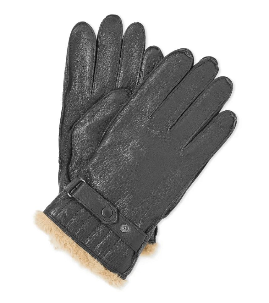 Barbour Leather Utility Gove Men's Winter Fashion