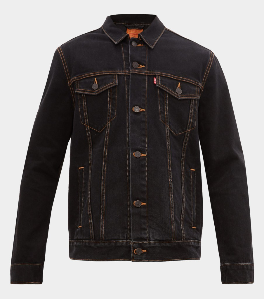 Wardrobe.NYC Denim Jacket Black - Capsule Wardrobe Essential