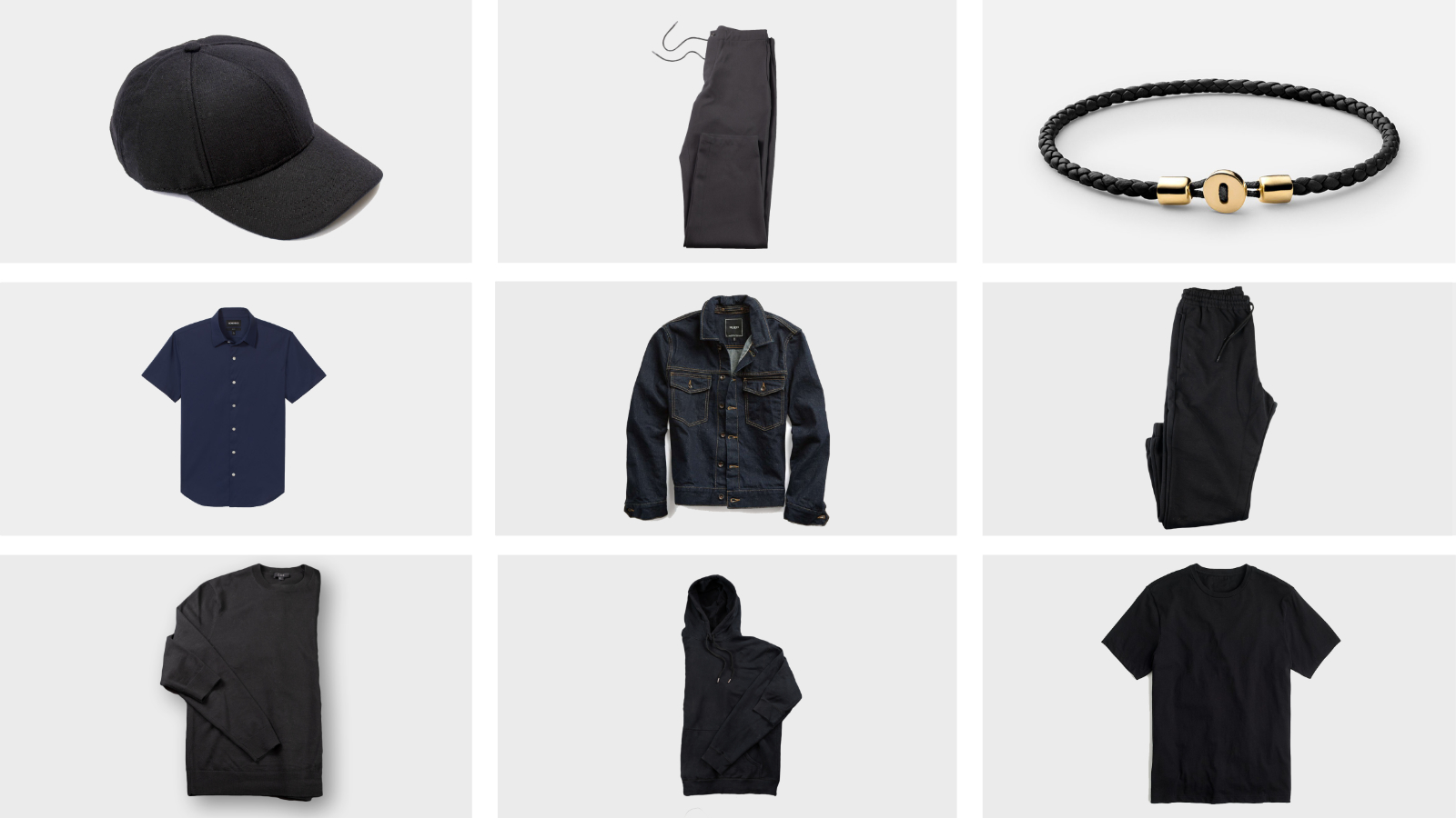 Men's Spring Fashion – Essentials to handle warm days and cool nights.