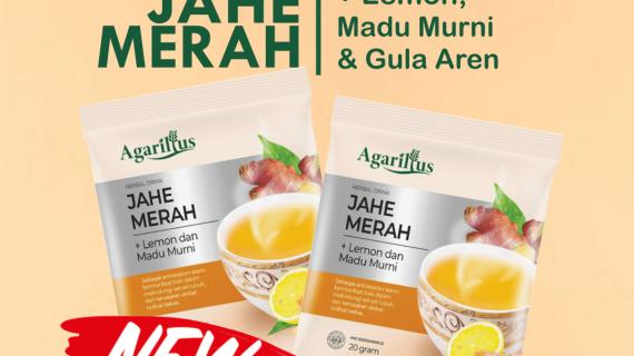 Jahe Merah Lemon | Minuman Penghangat Tubuh & Penghilang Racun