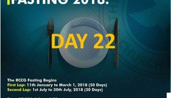 Day 4: RCCG Fasting July 2018 Prayer Points » Perspective