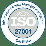 Certifié ISO 27001