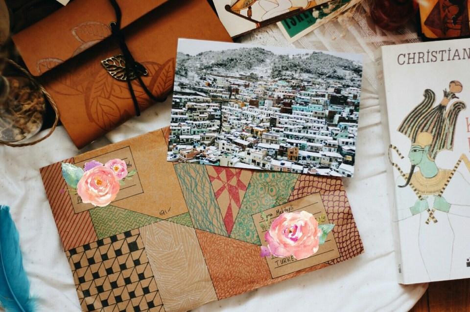 Kore'den Kartpostal Postcrossing