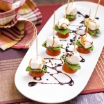 Caprese Skewers – Healthy for the Holidays