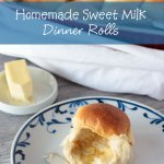 Homemade Dinner Rolls with Sweet Milk