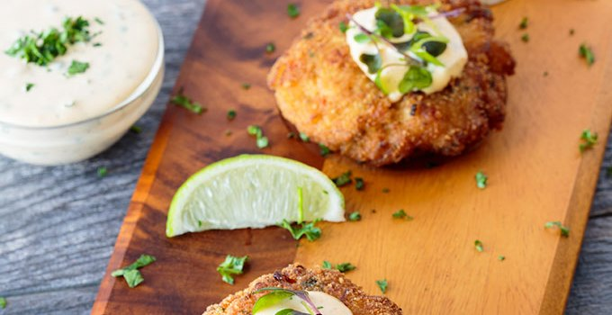 Fish Cakes with Remoulade