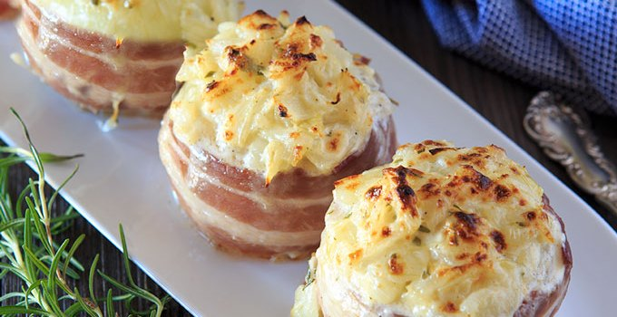 Baked Stuffed Onions (Naked Chef)