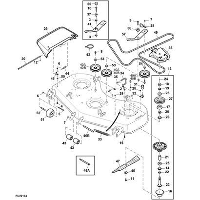 john deere z540r 60 mower deck parts diagram 14607?resize=410%2C410 john deere jx75 parts diagram the best deer 2017 john deere l120 wiring diagram at bakdesigns.co