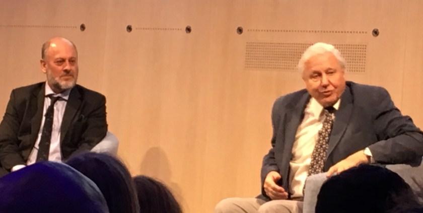 Tim Flannery and Sir David Attenborough