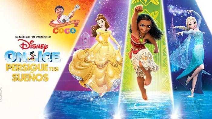 """Disney On Ice """"Persigue tus sueños"""" en México"""