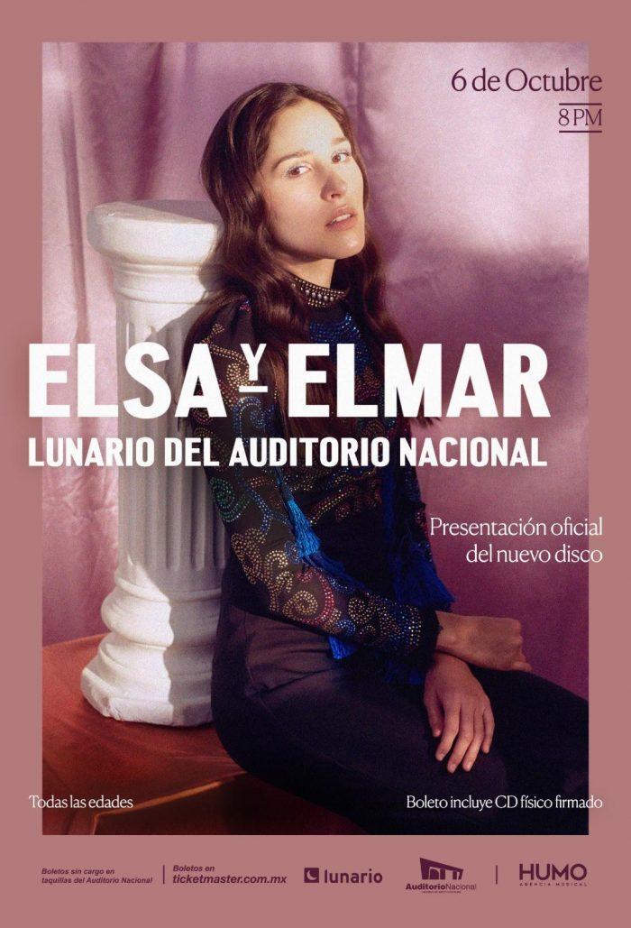 Elsa y Elmar llega al lunario con su nuevo álbum