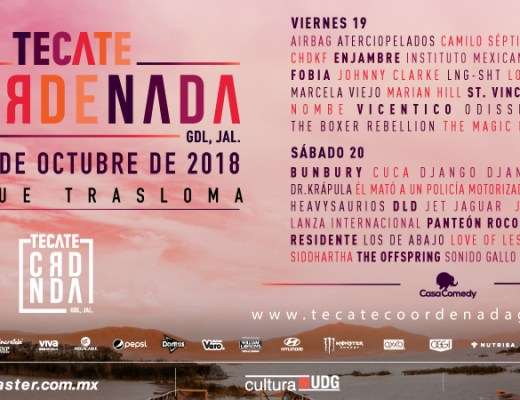 Tecate Coordenada 2018
