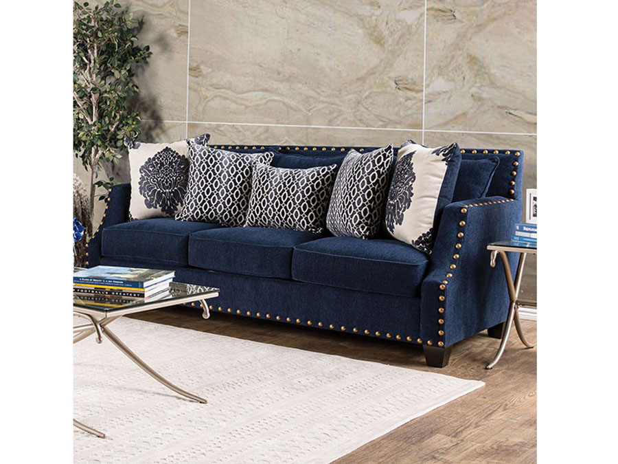 Cornelia Navy Sofa Shop For Affordable Home Furniture