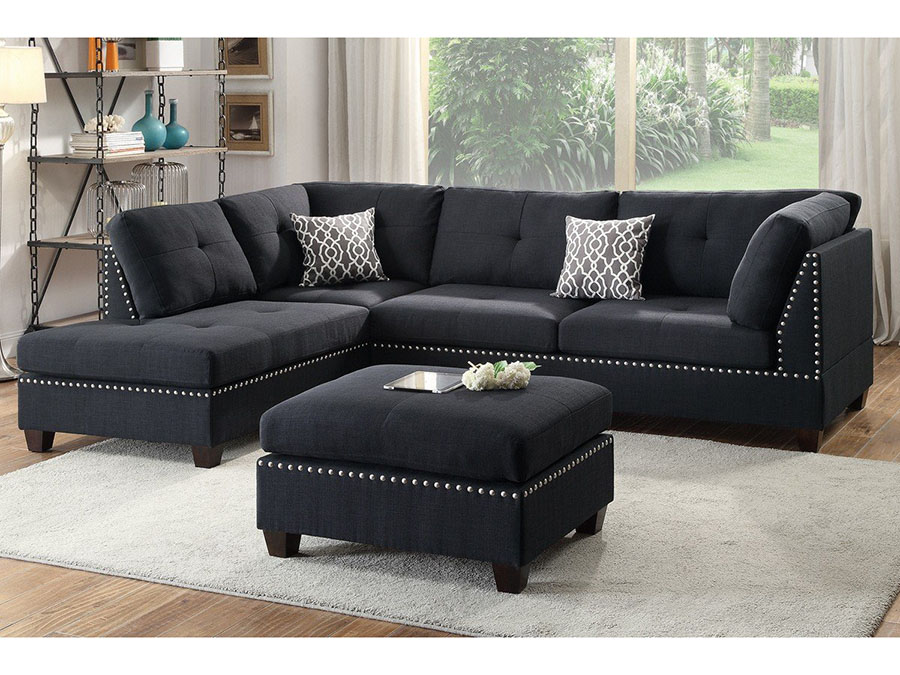 3Pcs Sectional Sofa Shop For Affordable Home Furniture