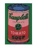 image of an andy warhol campbells soup can painting