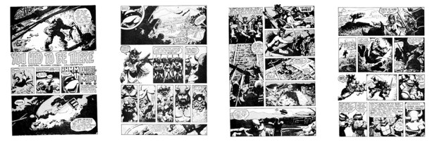 You Had to Be There, B&W, 4 pgs
