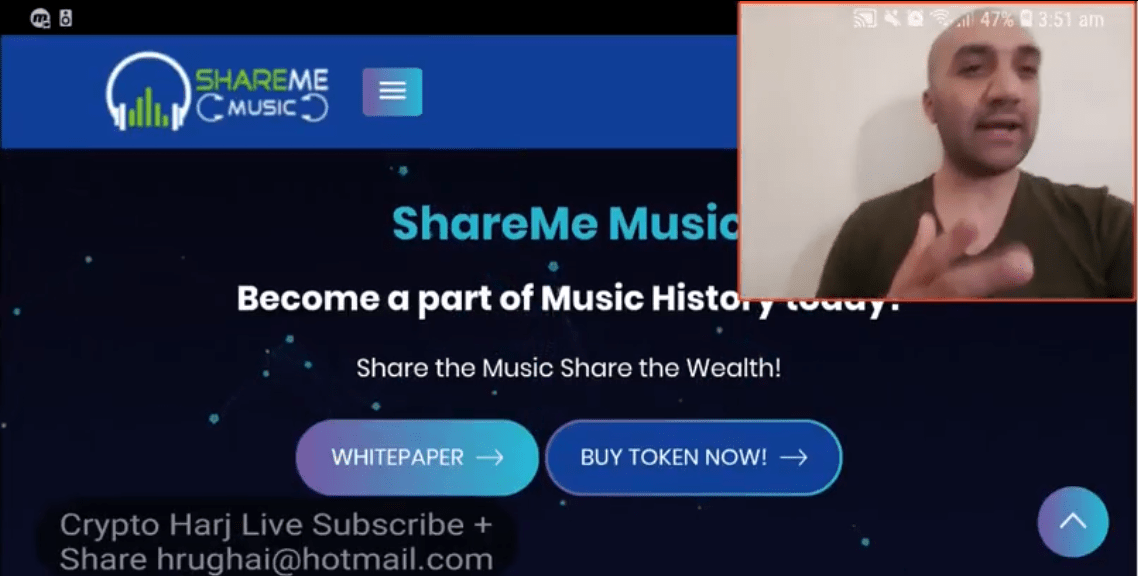 Crypto Harj ShareMe Music Review on MUXETV