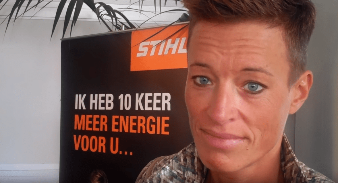 MUXE TV - Rob Buser - roenTechniekHolland STIHL Marketingmanager BeNeLux Katja De Laet is Voor Social Media