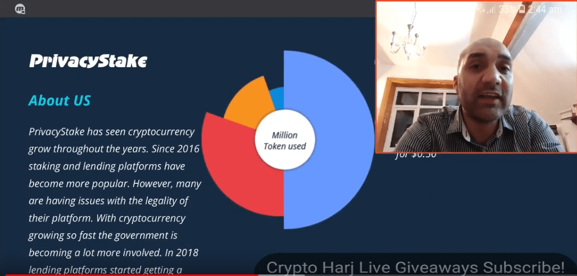 crypto harj privacy stake coin