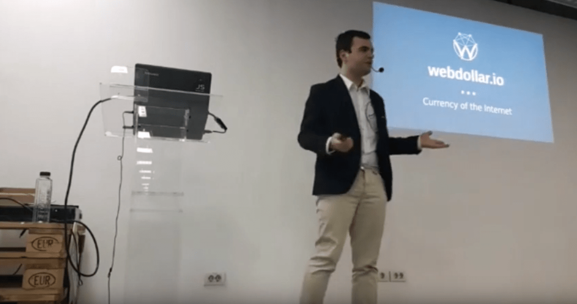 muxe tv webdollar at techhub presentation alex budisteanu