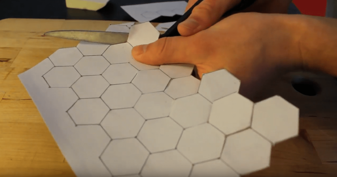 muxetv Level 1 Bard DIY Hexagonal Dungeon Tiles for D&D