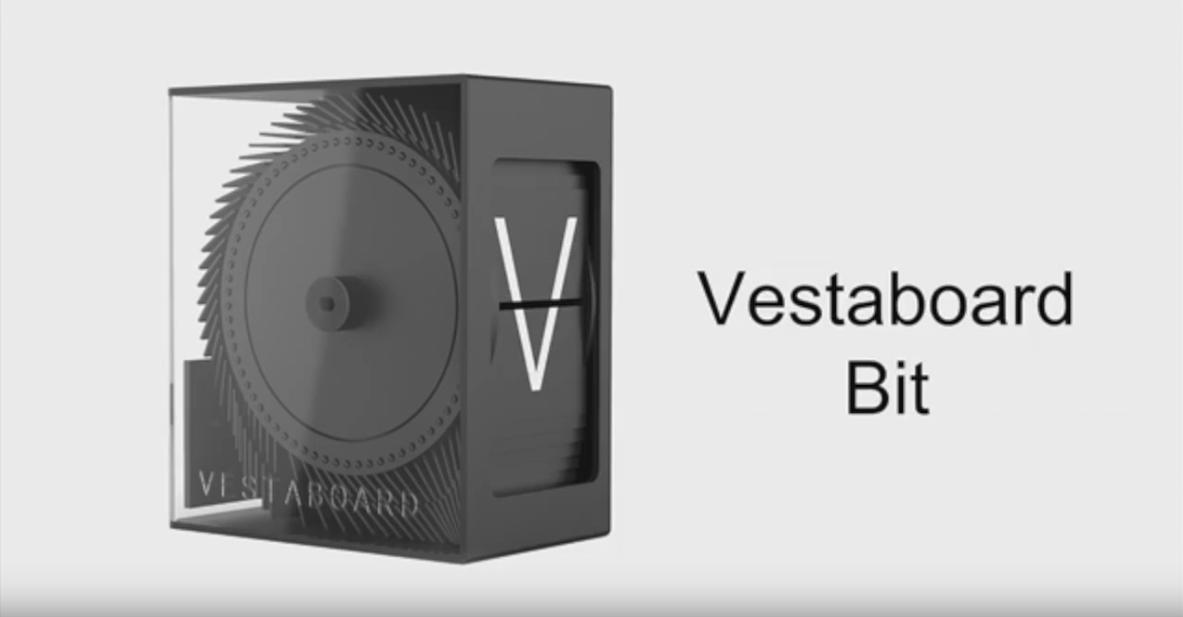 muxetv Dorrian Porter previews Vestaboard
