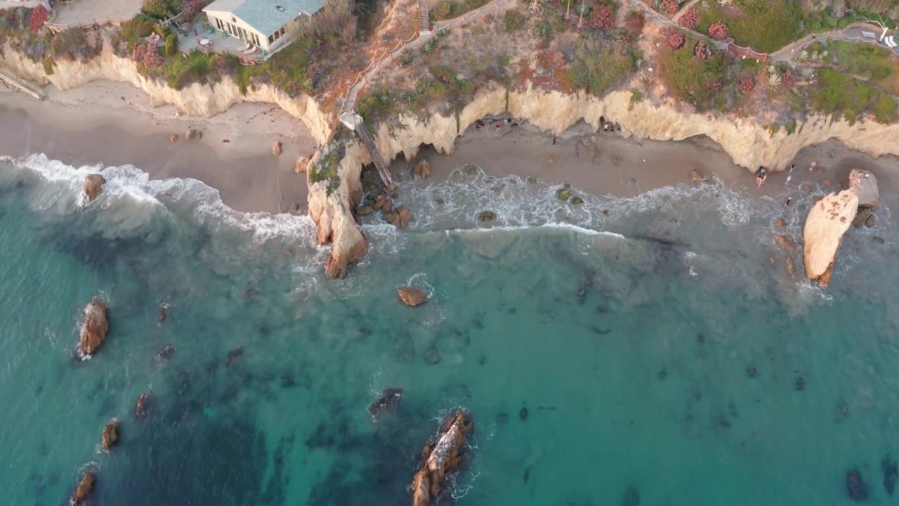 El-Matador-State-Beach-Video-4k-drone-Footage-Malibu