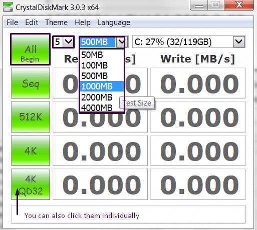 Tutorial: como medir el rendimiento de tu HDD/SSD