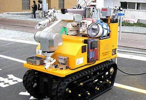 moniroboantiradiacion 500x341 Los robots llegan a la planta nuclear de Fukushima