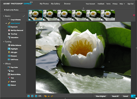 photoshop express Siete alternativas a Photoshop en la nube de forma gratuita