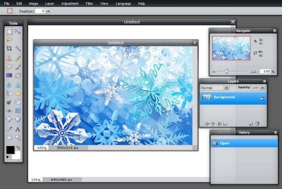 pixlr Siete alternativas a Photoshop en la nube de forma gratuita