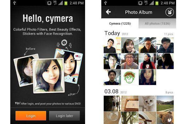 Cymera Tres alternativas interesantes a Instagram