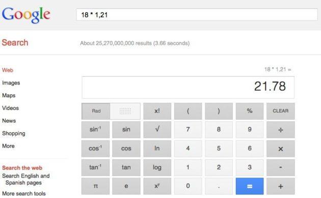 Captura de pantalla 2012 07 25 a las 13.20.25 630x389 Google lanza completa calculadora científica de 34 botones en su buscador