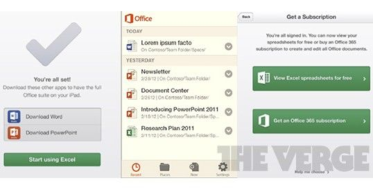 MS Office android ios Microsoft Office Mobile para iOS y Android, revelado