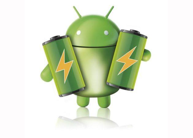 bateria android 630x450 Los 15 dispositivos Android más y menos tragones de batería