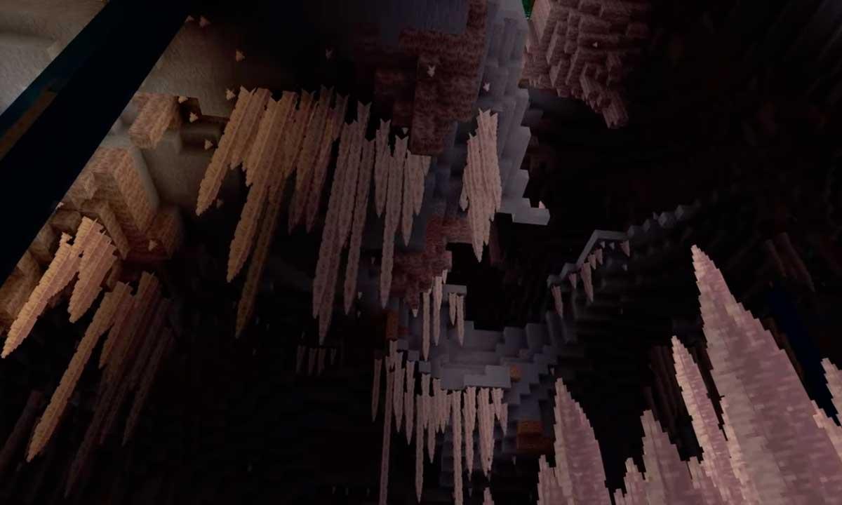Minecraft 1.17 ya tiene nombre: Caves & Cliffs Update