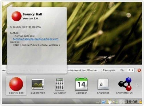 KDE 4.4 plasmoides
