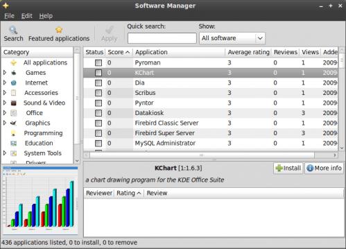 Linux Mint 8 - mintinstall