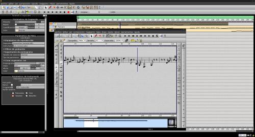 rosegarden 500x269 Aprendizaje de música en GNU/Linux