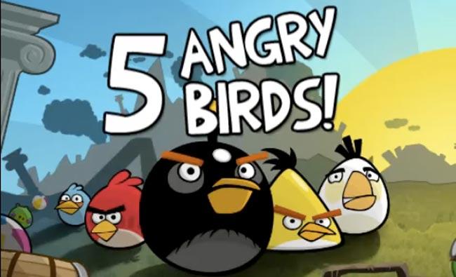 angry birds  ¿Quieres hacerte rico con el desarrollo de Apps para smartphones?