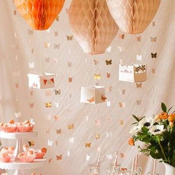 Ideas para Baby Shower con globos aeroestáticos